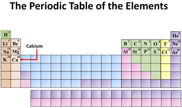 Chemistry: The Periodic Table of the Elements. Calcium